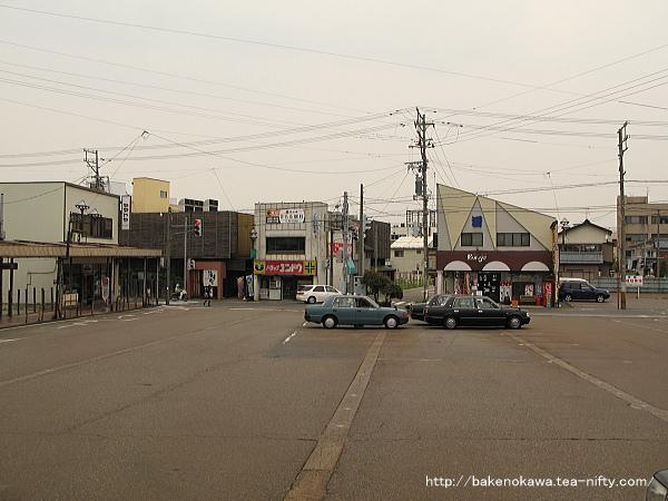 昔の東三条駅西口ロータリー