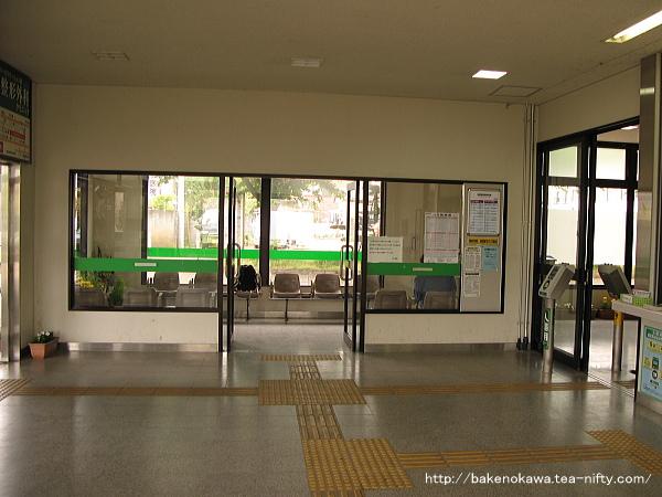 北三条駅駅舎内部その2
