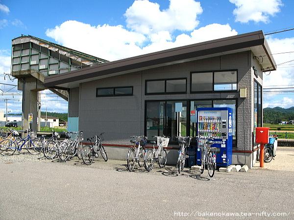 2013年9月時点の平林駅駅舎の様子