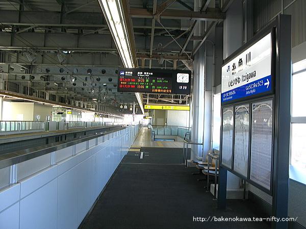 北陸新幹線糸魚川駅構内の様子その一