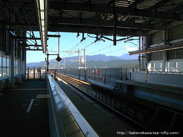 北陸新幹線糸魚川駅構内の様子その三