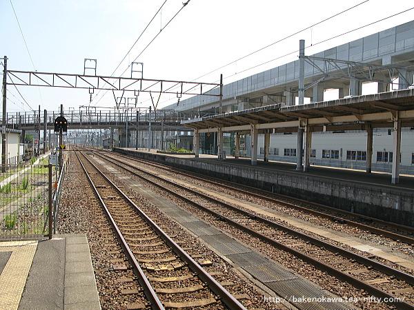 糸魚川駅の1番ホームその6