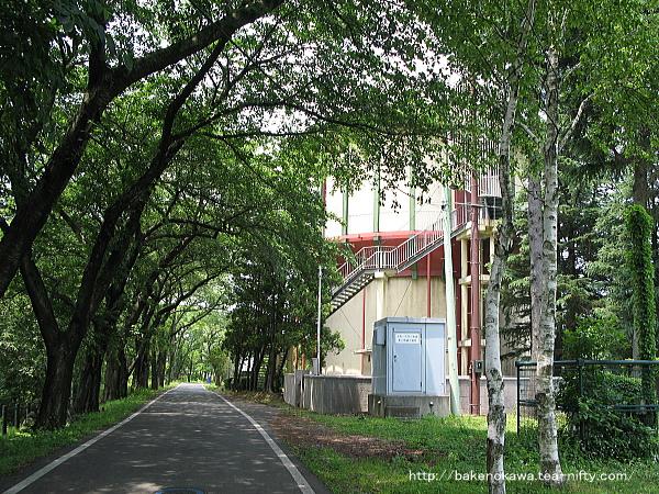 美山公園内の展望台