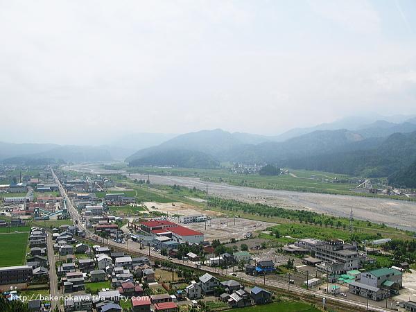 美山公園展望台からの眺め