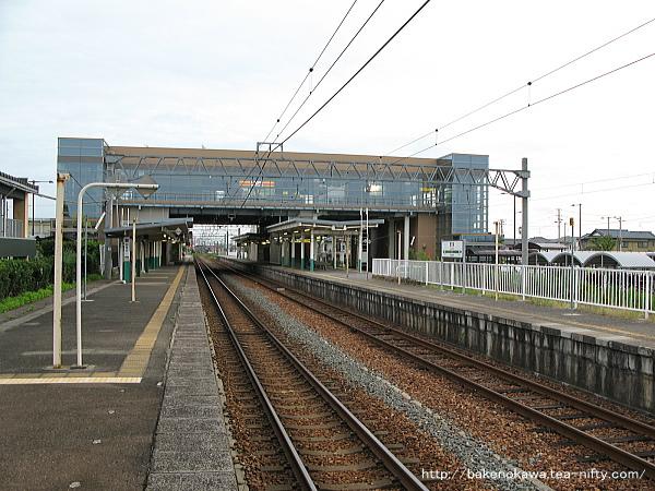 豊栄駅の1番ホームその三