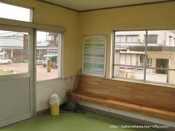 南吉田駅舎内部その2