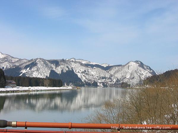 きりん橋上から見た阿賀野川その2