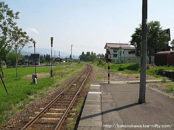 越後広瀬駅の旧島式ホームその3