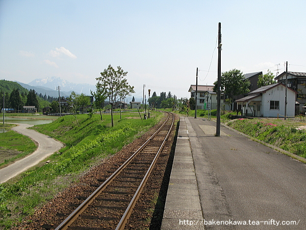 越後広瀬駅の旧島式ホームその4