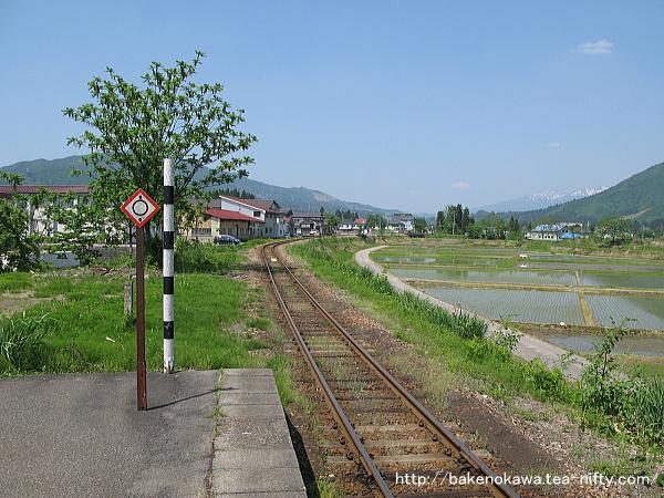 越後広瀬駅の旧島式ホームその5