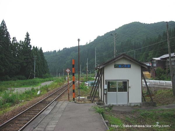 柿ノ木駅のホームその2