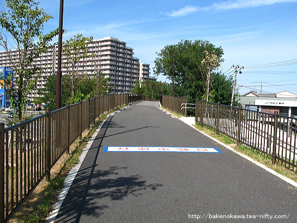新潟交通電車線東青山駅跡周辺その1