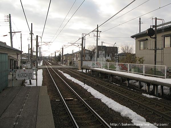 越後石山駅の上りホームその4