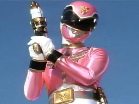 蜂須賀祐一さん演じるゴセイピンクの可愛らしさ
