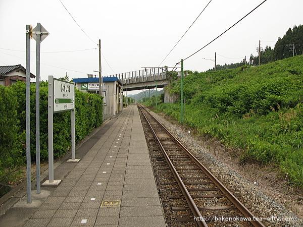 小木ノ城駅のホームその4