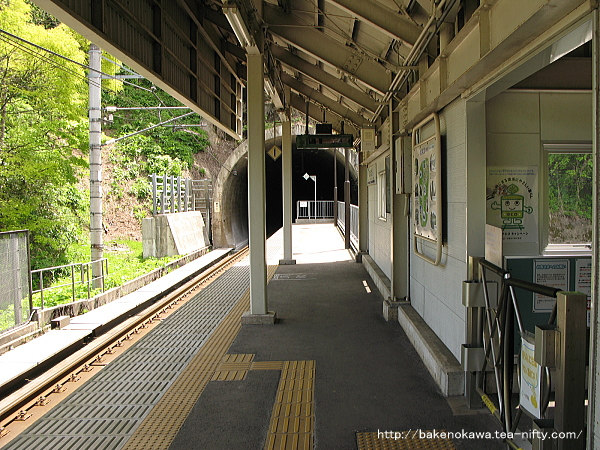 ほくほく大島駅のホームその3