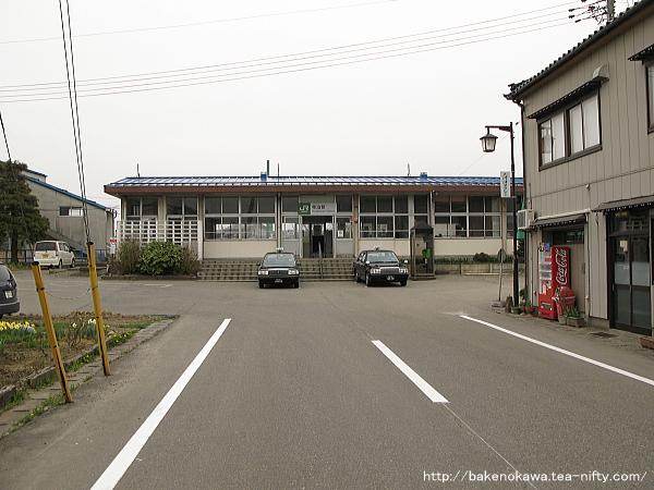 寺泊駅駅舎その1