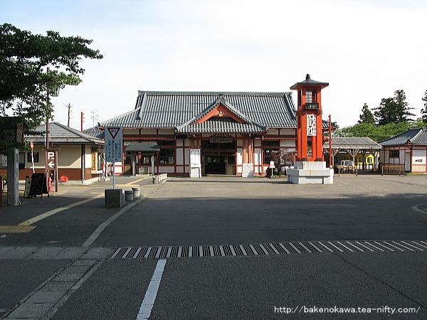 弥彦駅駅舎