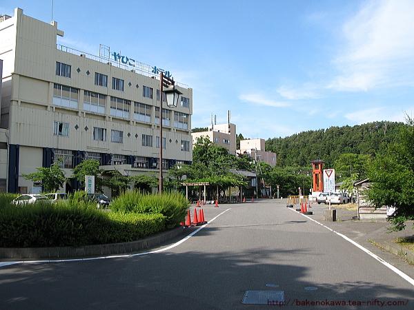 弥彦観光ホテルの廃墟