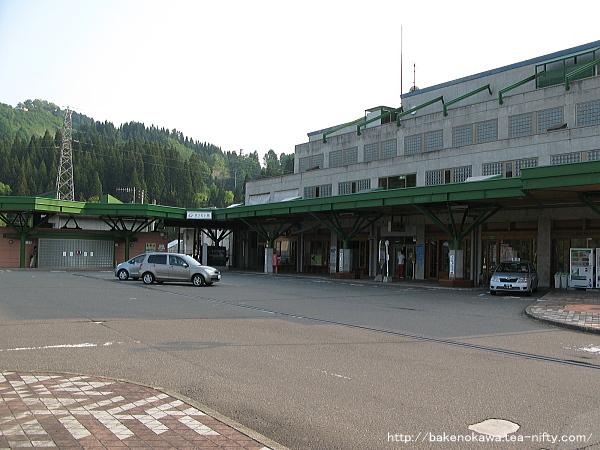 まつだい駅駅舎