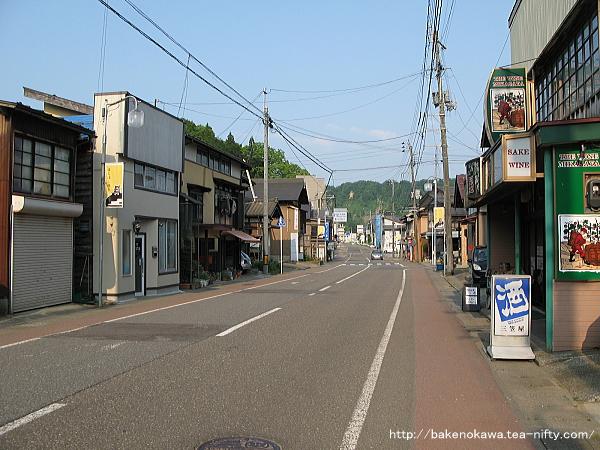 旧松代町の中心街