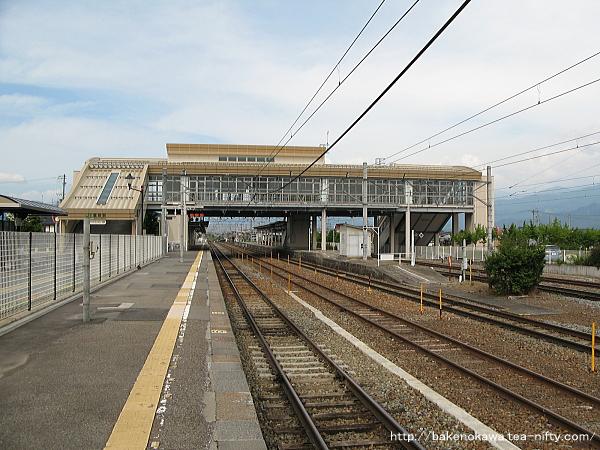 豊野駅の1番線その1