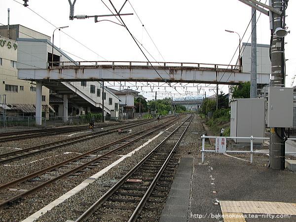 豊野駅の1番線その2