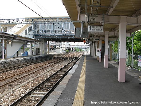 豊野駅の1番線その3