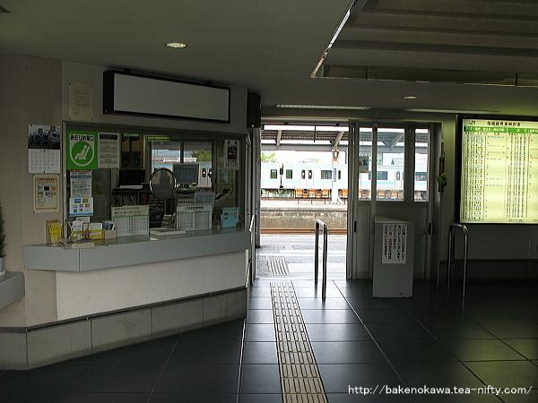 北長野駅駅舎内部その1