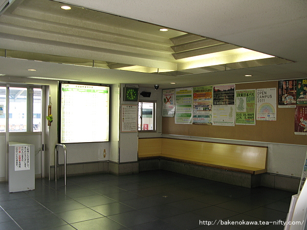 北長野駅駅舎内部その2