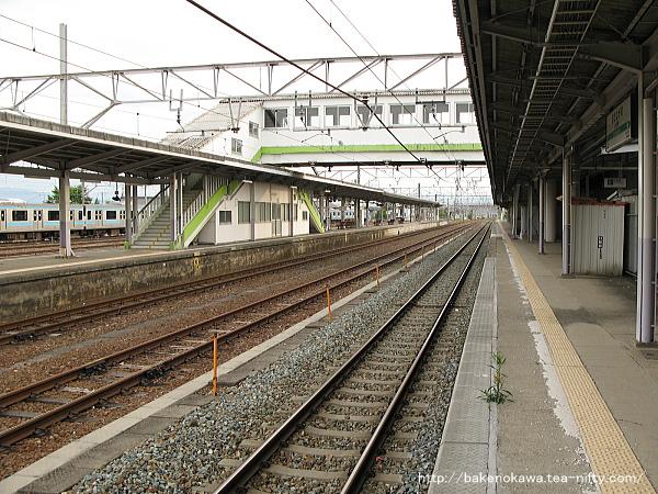 北長野駅の1番線その1