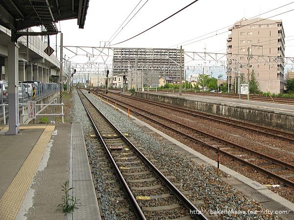 北長野駅の1番線その2