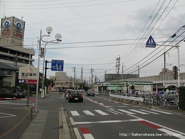 北長野駅前