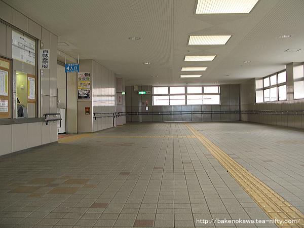 長野電鉄の信濃吉田駅その2