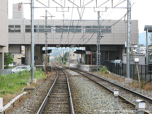 長野電鉄の信濃吉田駅その4