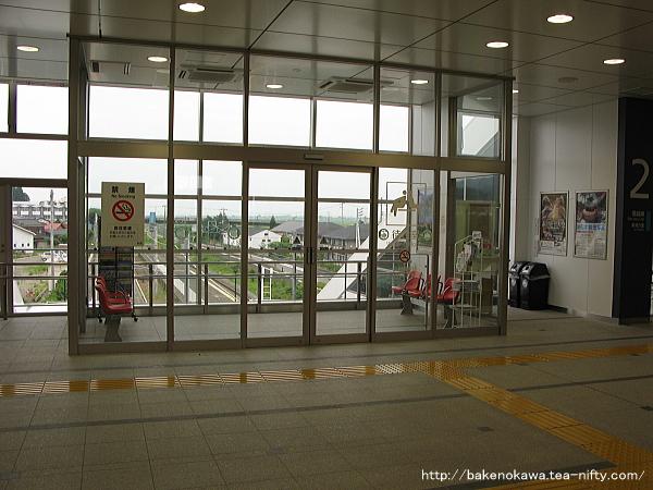 矢代田駅橋上駅舎内部その3