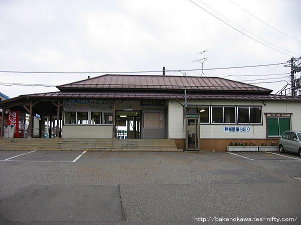 矢代田駅の旧駅舎その1