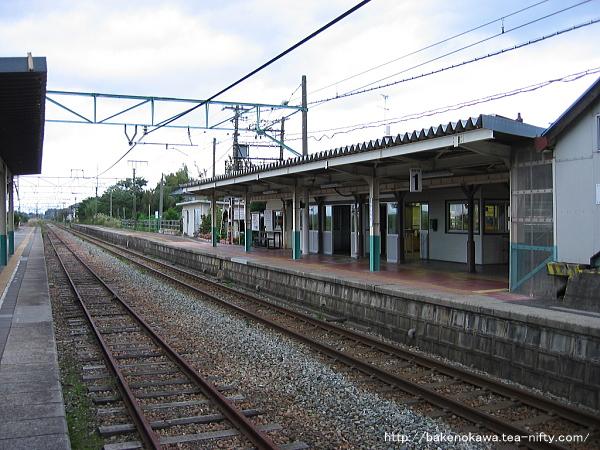矢代田駅の旧構内その2