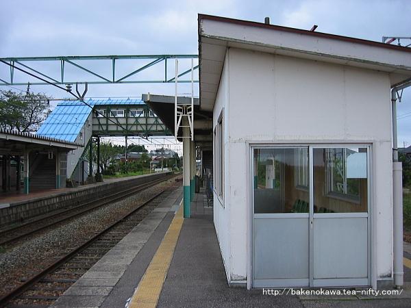 矢代田駅の旧構内その4