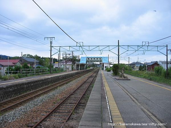 矢代田駅の旧構内その5