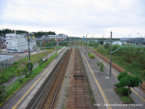 矢代田駅の旧構内その8
