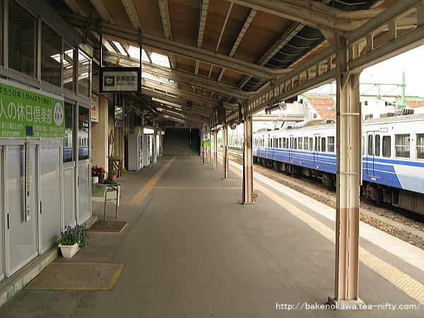 吉田駅の1番ホームその1