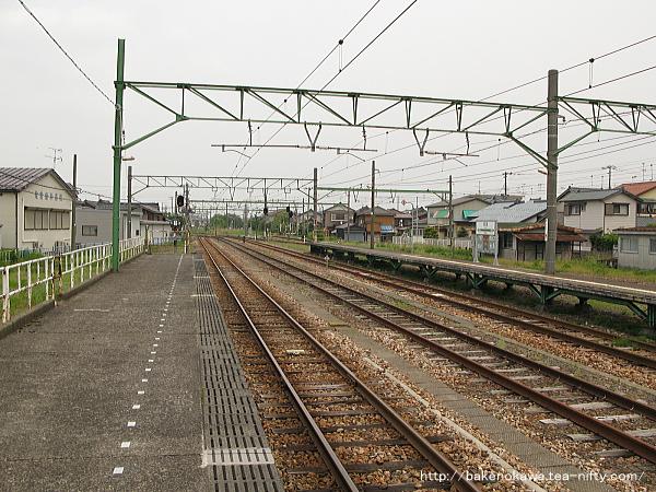 吉田駅の1番ホームその5