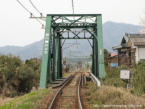 弥彦線の西川橋りょう