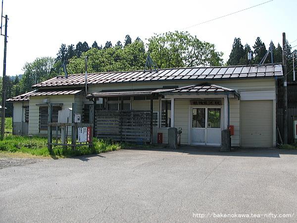 越後岩沢駅駅舎その1