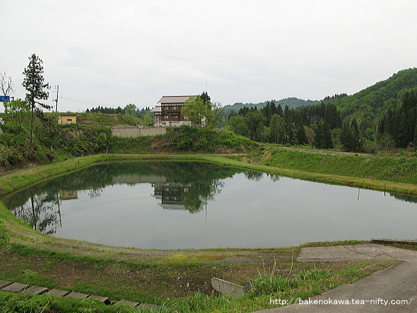 農業用の溜池