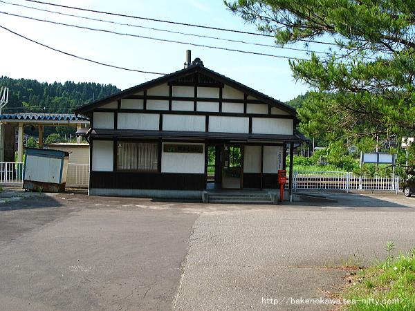 越後広田駅駅舎