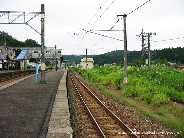 越後広田駅の旧島式ホームその4