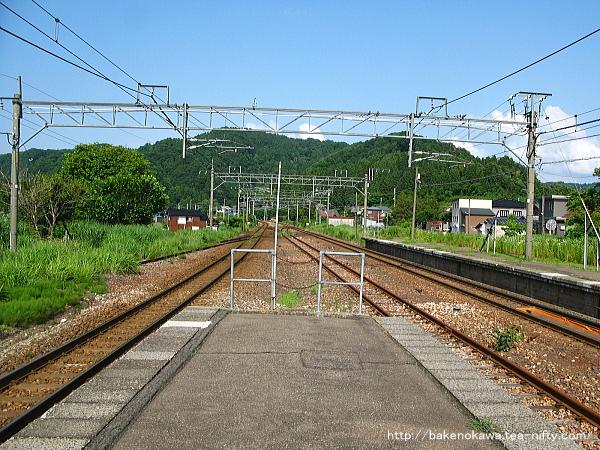 越後広田駅の旧島式ホームその5