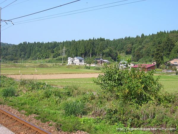 路線バスの通る県道